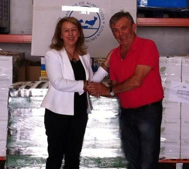 mercadona donación Banco de Alimentos de Valencia