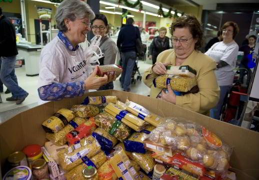 Banco de alimentos - Mercadona