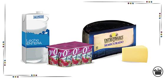 Productos lácteos en Mercadona