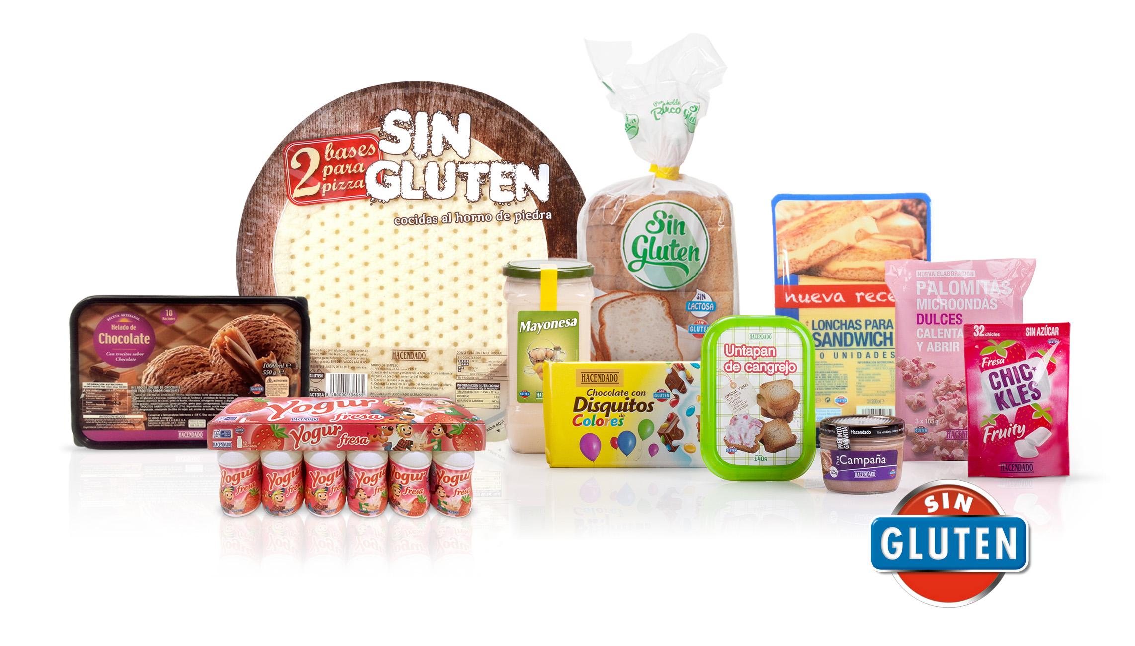 Mercadona ampl a su surtido para cel acos hasta los 850 productos mercadona - Alimentos sin gluten para celiacos ...