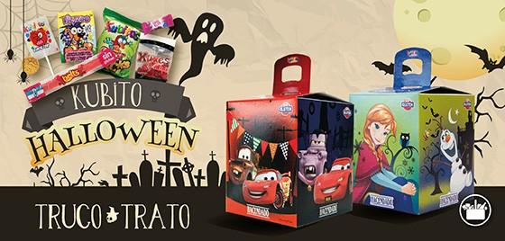 Kubitos Halloween de Mercadona