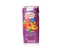 Fruta leche tropical Hacendado melocoton albaricoque