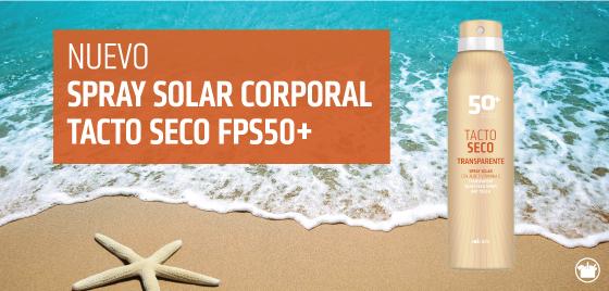 Nuevo Spray Solar Corporal Tacto Seco FPS50+