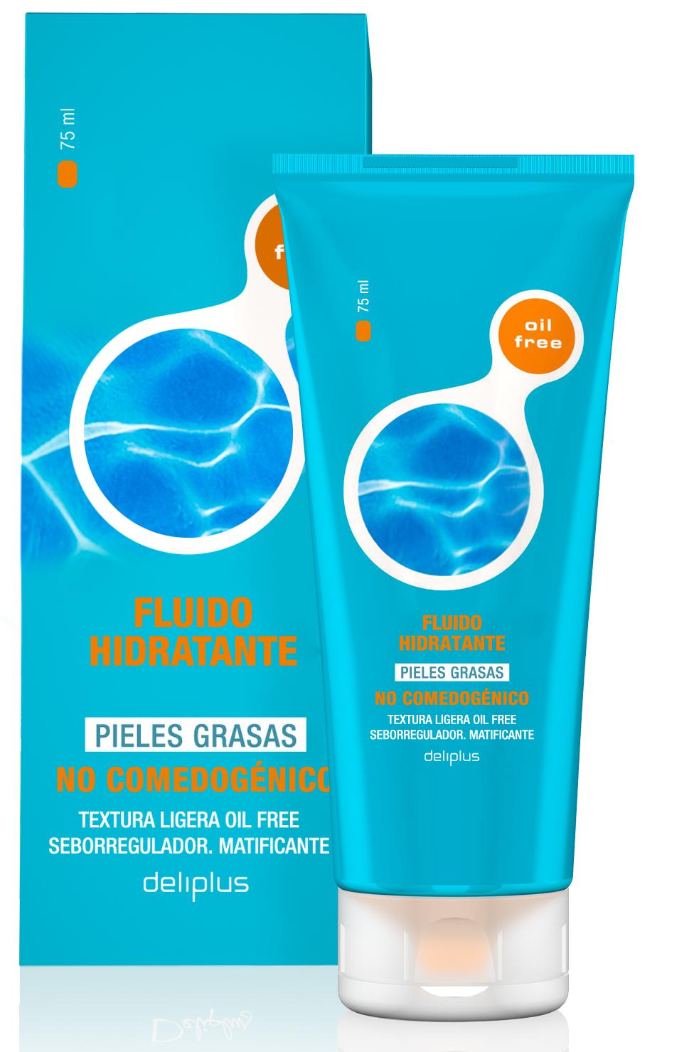Увлажняющая жидкость для жирной кожи Deliplus