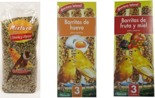 Comida para Canarios en Mercadona