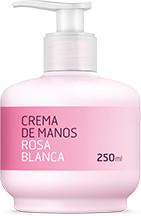 CREMA DE MANOS ROSA BLANCA NUEVO FORMATO 250ML DELIPLUS