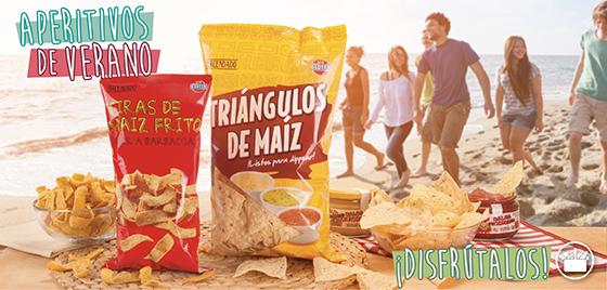 Snacks de maíz Hacendado