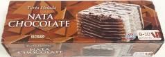 Tarta Nata Chocolate Hacendado