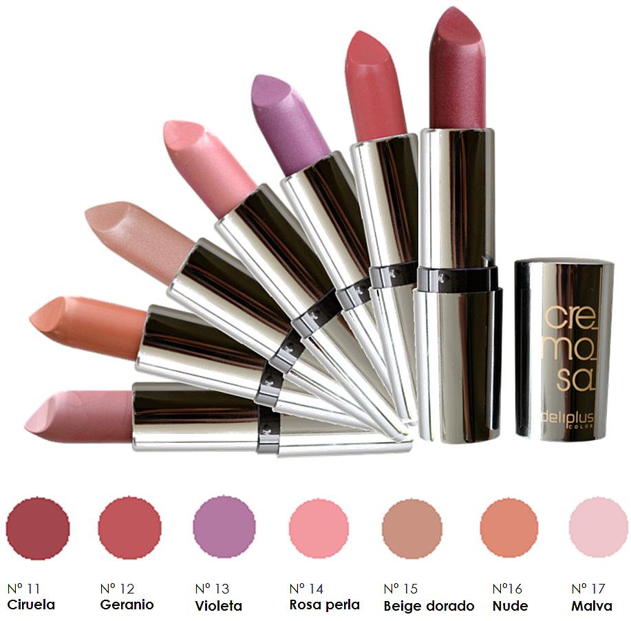 Nuevos colores barra de labios Cremosa
