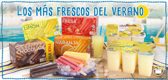 Helados De Hielo De Mercadona Los Más Frescos Del Verano Mercadona