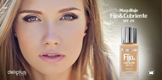 Nuevo maquillaje Fijo&Cubriente Deliplus