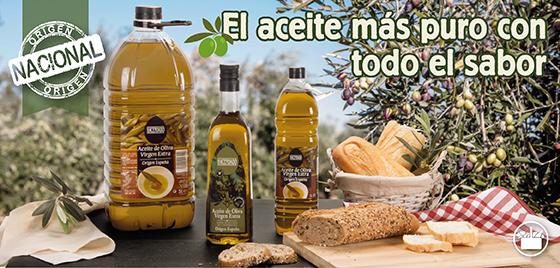 Aceite de oliva virgen extra Hacendado