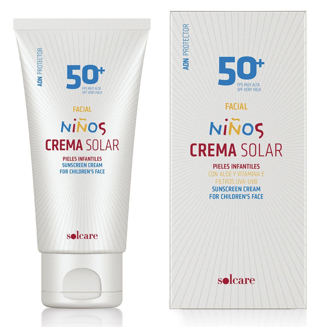 crema con protector solar para bebes