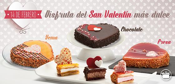 Tartas de Mercadona para San Valentín