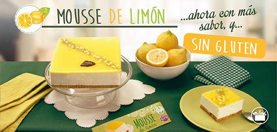 Mousse de Limón Sin Gluten de Mercadona