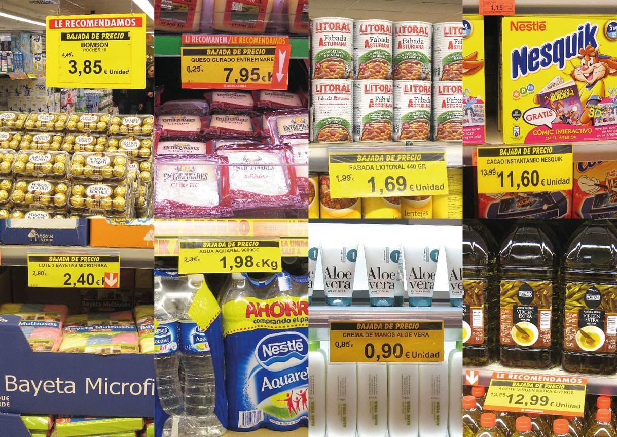 Precios Mercadona Noviembre 2012