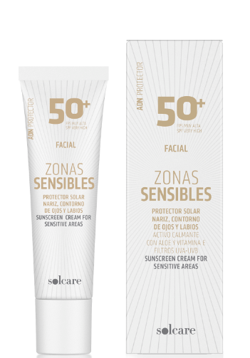 Protector facial zonas sensibles FPS50