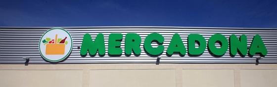 Fachada del recientemente inaugurado supermercado en Ctra. Riaza, Segovia.