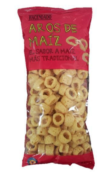 Aros de maíz Hacendado