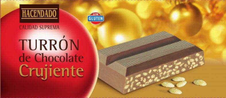 Turron Hacendado Chocolate