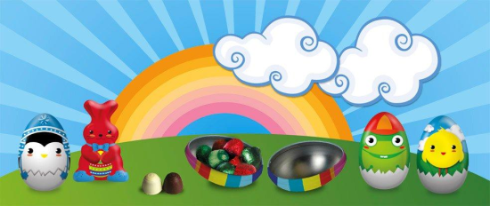 Figuras con bombones para Pascua de Mercadona