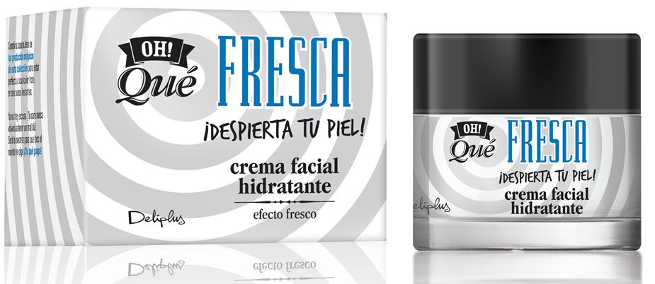 Crema facial hidratante: Oh Qué Fresca
