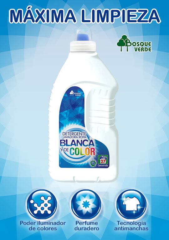 Detergente de mercadona m xima limpieza para ropa blanca for Cual es el mejor detergente para lavadora