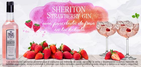 Ginebra de Mercadona: Sheriton Strawberry