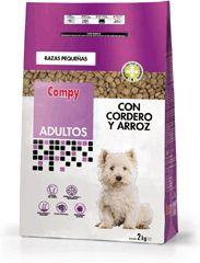 Compy Adultos con Cordero y Arroz