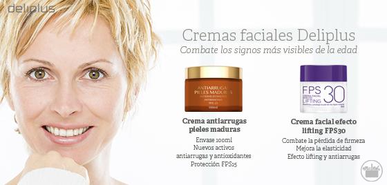 Nuevas cremas faciales Deliplus