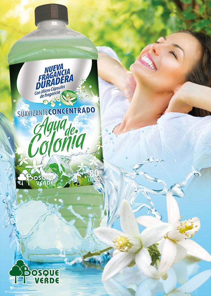 Suavizante Concentrado Agua de Colonia