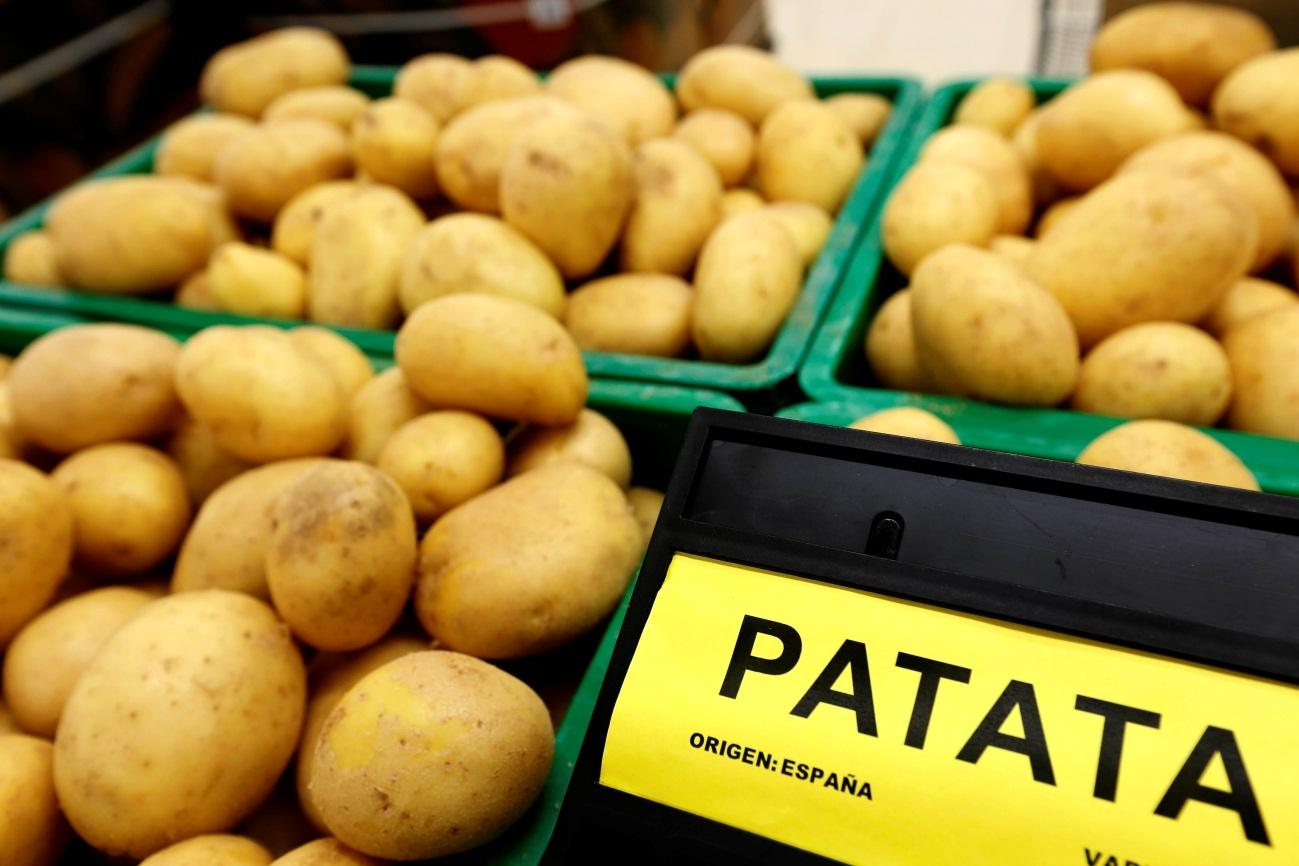 Patata española a la venta en Mercadona en la pasada campaña.