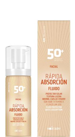 Fluido Protector Facial Rápida Absorción FPS50+