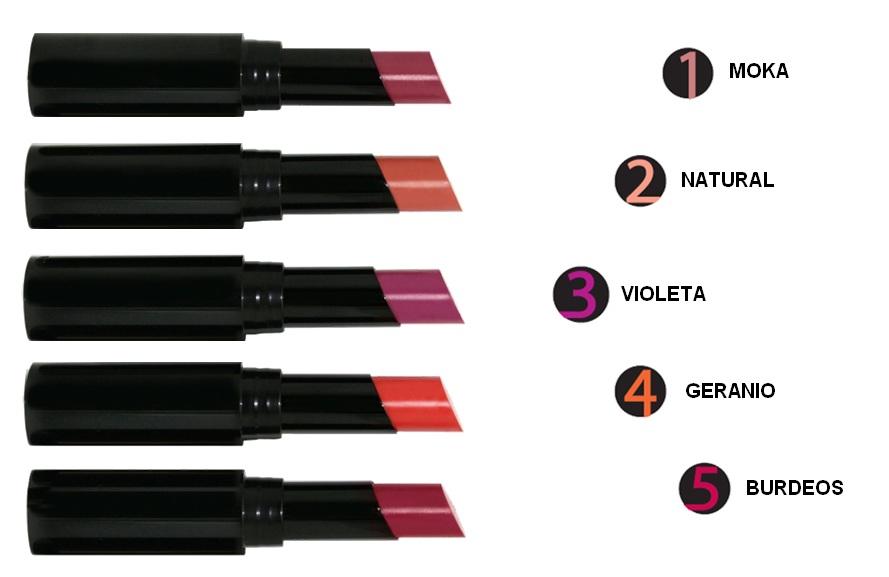 colores barra de labios infinita