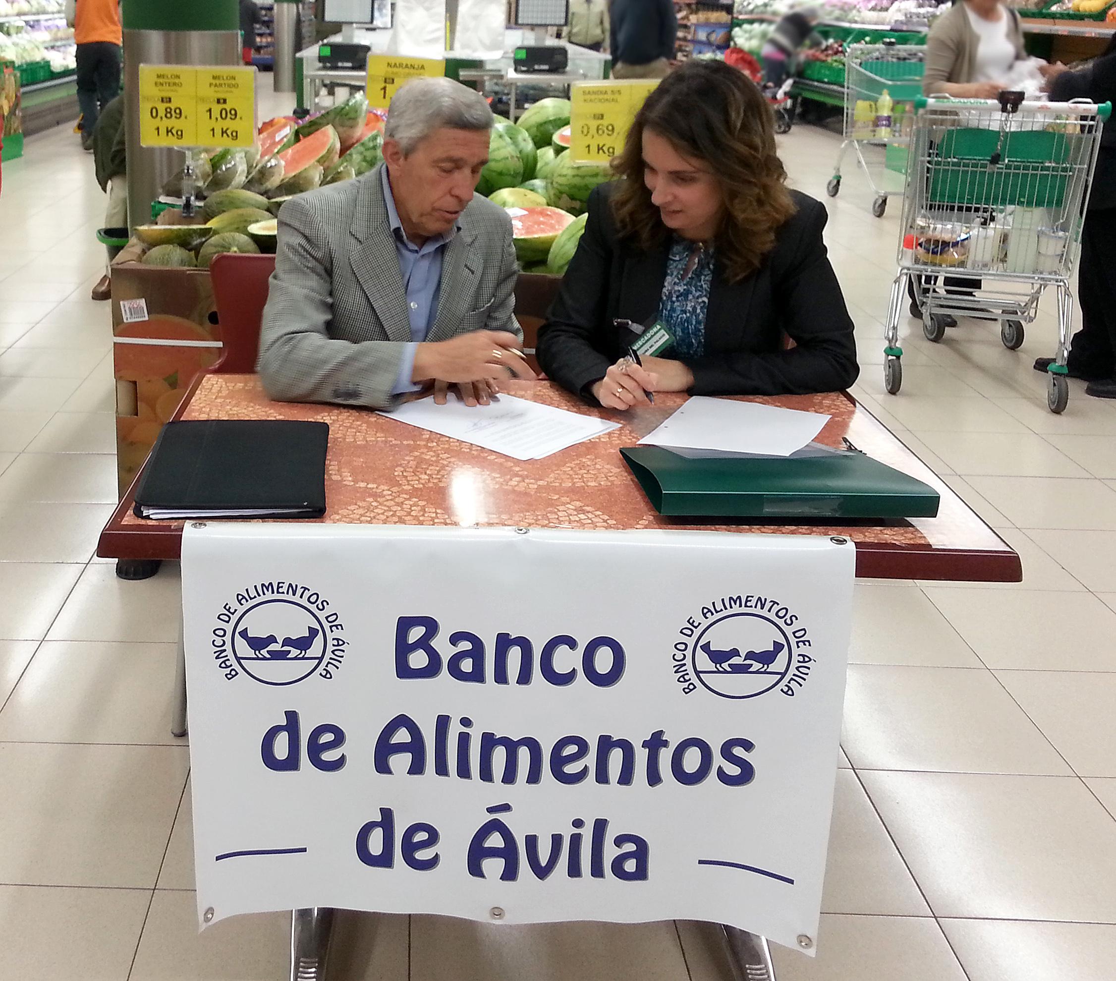 Mercadona firma un convenio de colaboración con el Banco de Alimentos de Ávila
