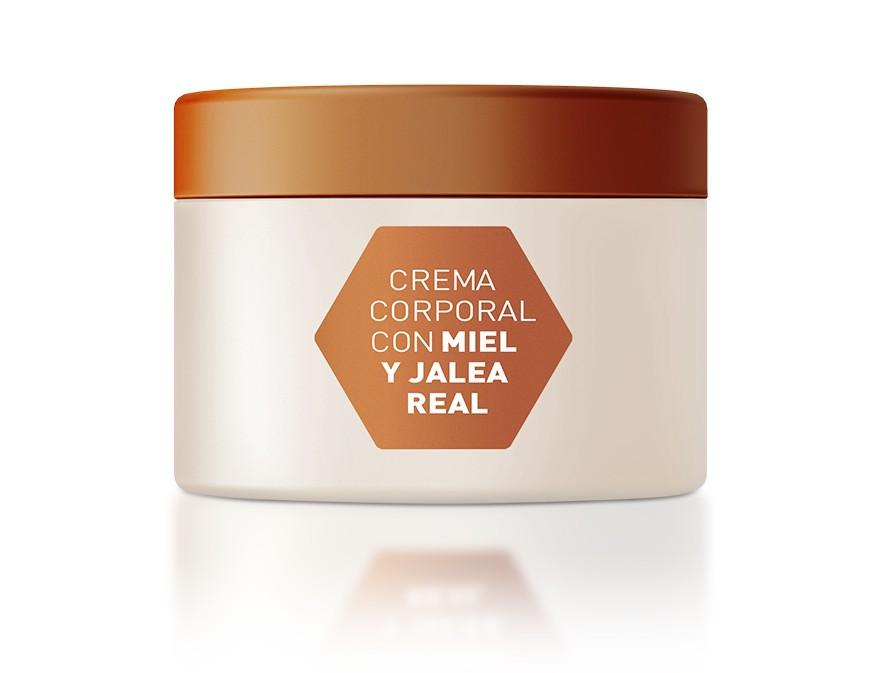 nueva Crema Corporal con Miel y Jalea Real,