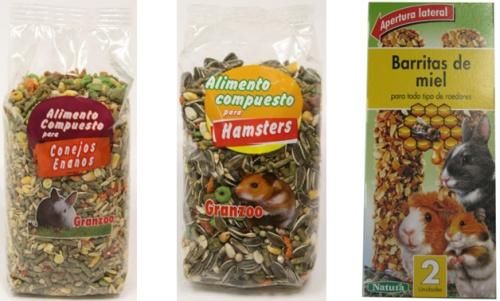 Comida para Roedores, Conejos o Hamsters en Mercadona