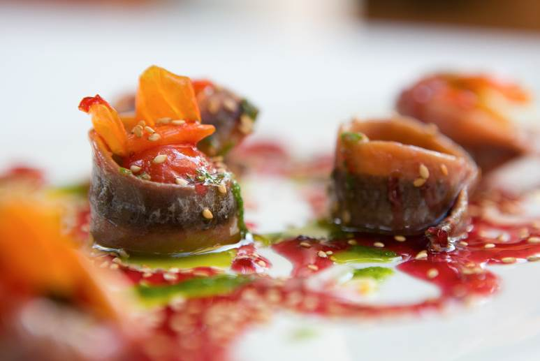 Anchoas y Tomates Cherry