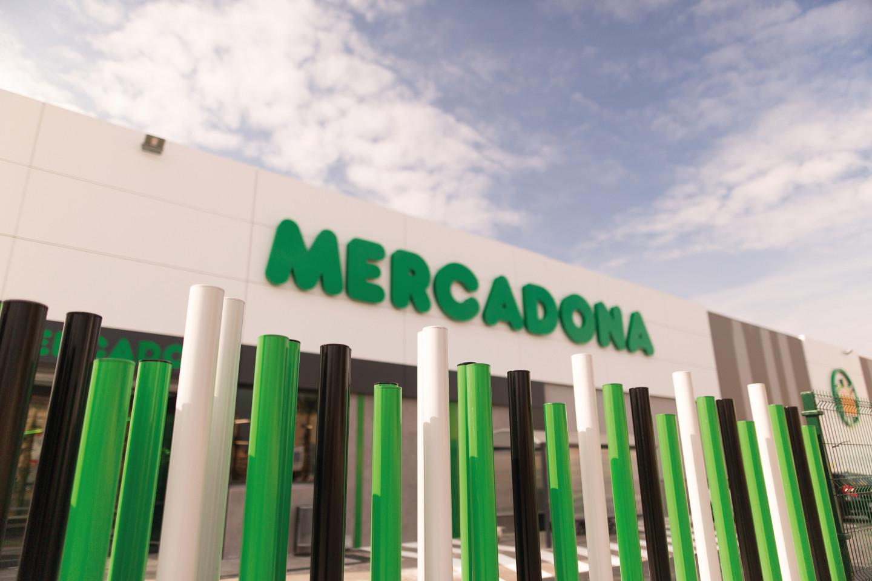 Fachada del supermercado de Puerta de Alicante, Alacant