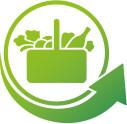 Logo de Mercadona con una flecha verde