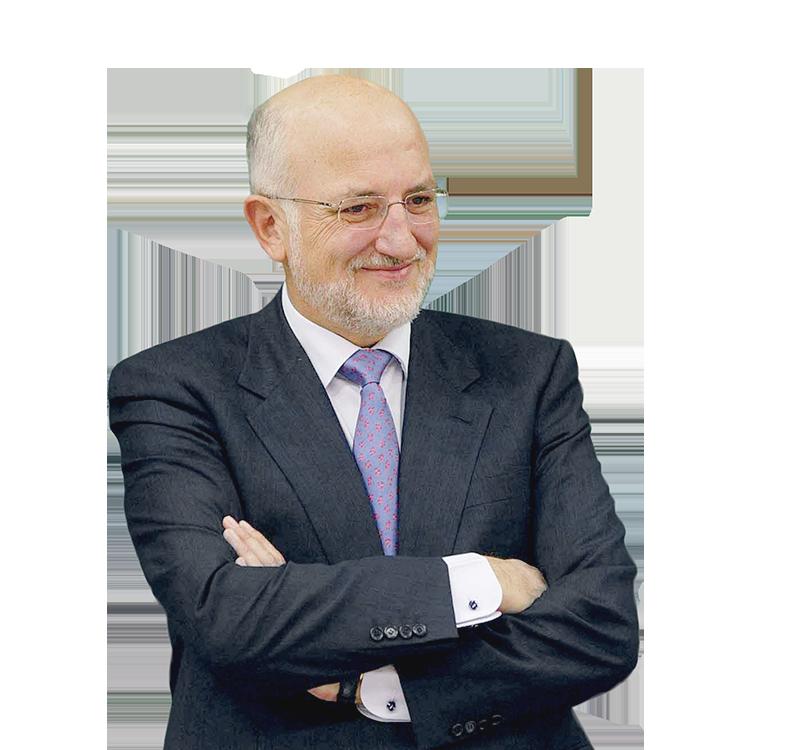 Retrato de Juan Roig, Presidente de Mercadona.