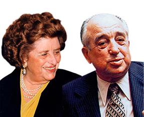 Francisco Roig e Trinidad Alfonso em 1977