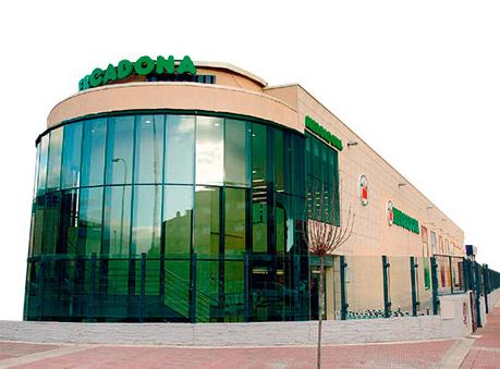 Edifício de um supermercado Mercadona